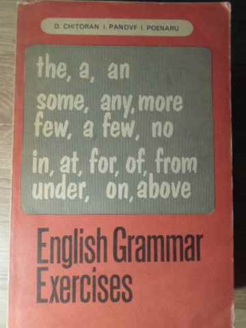 english grammar exercises                                                                            d.chitoran i.panovf i.poenaru