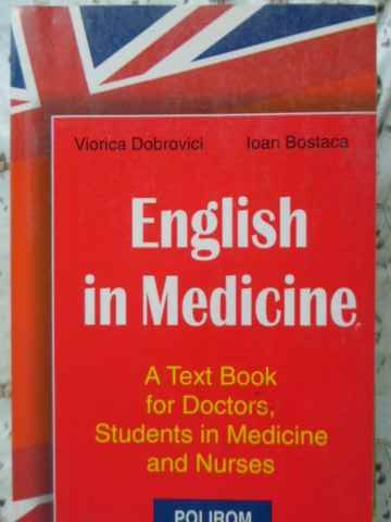 ENGLISH IN MEDICINE A TEXT BOOK FOR DOCTORS STUDENTS IN MEDICINE AND NURSES               ...