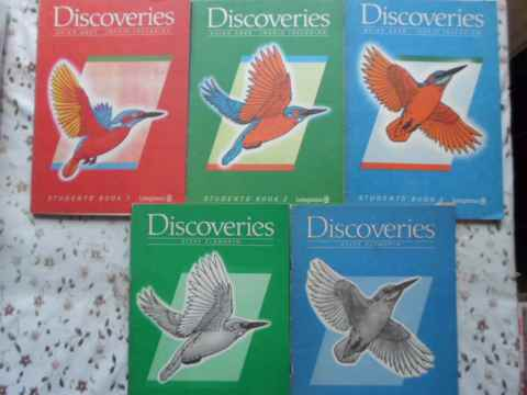 DISCOVERIES STUDENT'S BOOK VOL.1-3 + ACTIVITY BOOK 2-3                                    ...